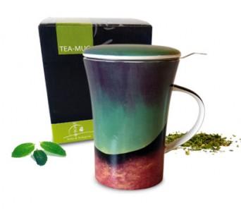 Tea-mug Design Vert