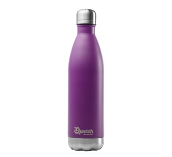 Bouteille nomade 750 ml inox pourpre isotherme