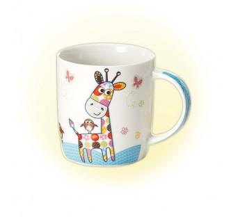 Mug en porcelaine Peppino Girafe