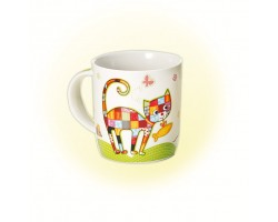 Mug en porcelaine Peppino Chat