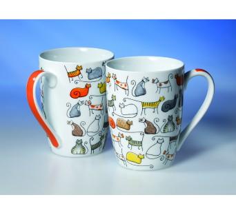 Mug en porcelaine Les Matous 0,35l