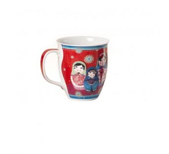 Mug porcelaine Poupées russes 0,35l