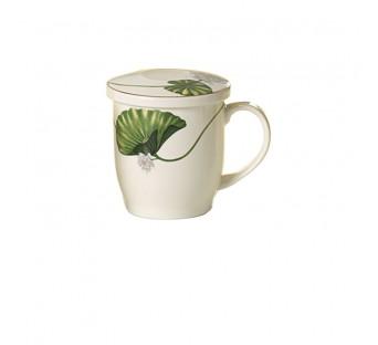 Tisanière Lotus en porcelaine 0,3l