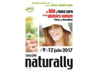 Salon NATURALLY 2017 du 9 au 12 Juin à PARIS PORTE DE VERSAILLES