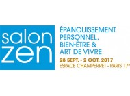 SALON ZEN A PARIS ESPACE CHAMPERRET DU 28 AU 2 OCTOBRE