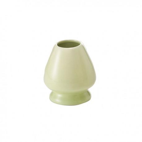 Socle en porcelaine pour fouet à matcha