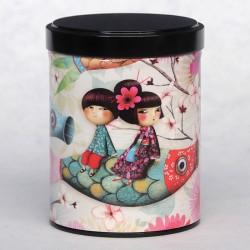 Boîte à thé carpe 125g