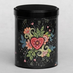 Boîte à thé COEUR FLEURI 120g